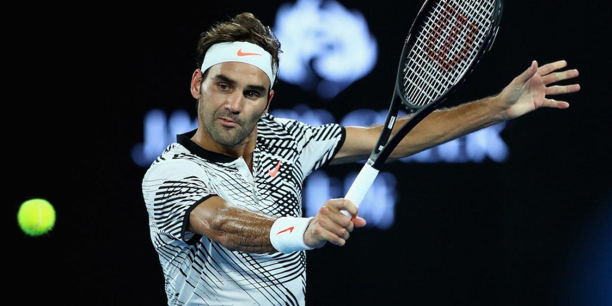 Federer debuta con triunfo en el Abierto de Australia