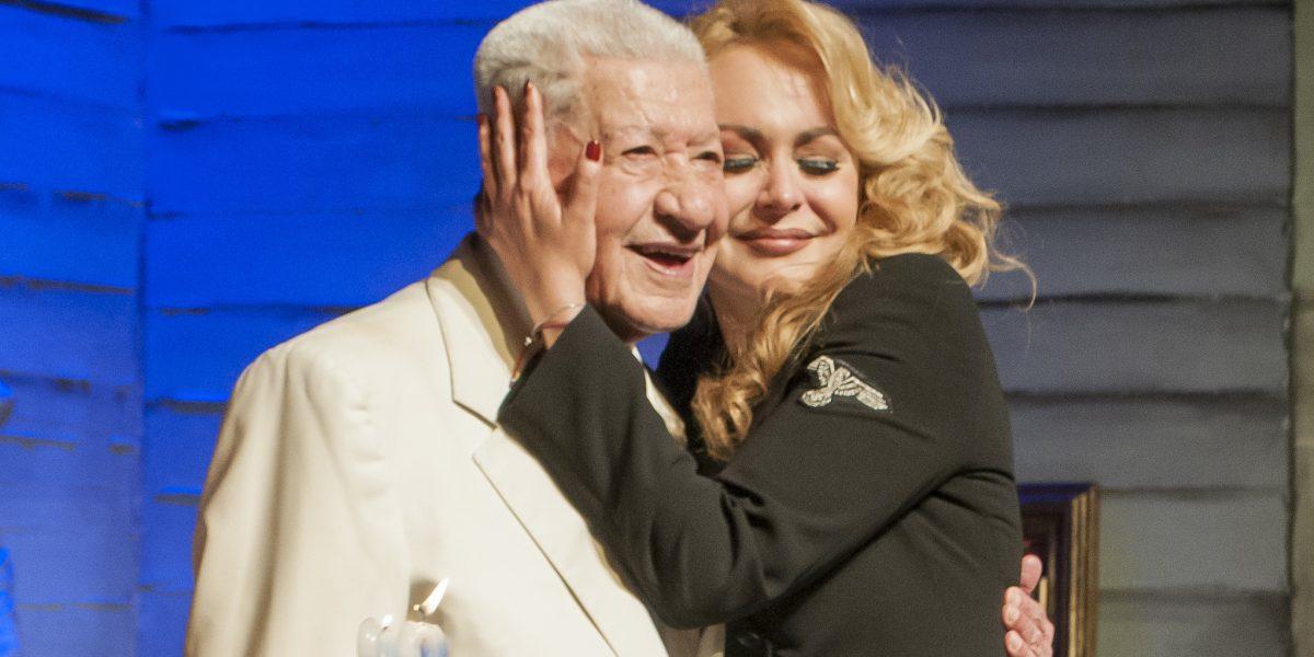 Ignacio López Tarso festeja 92 años trabajando con Un Picasso