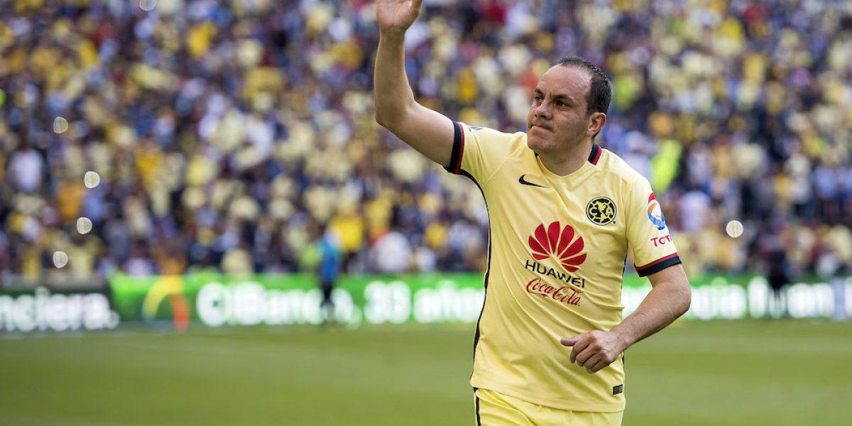 Los grandes goles en la carrera de Cuauhtémoc Blanco