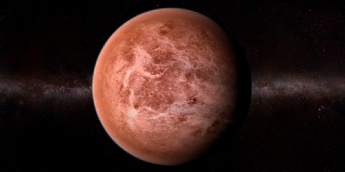 Detectan posible onda gravitatoria en la atmósfera de Venus