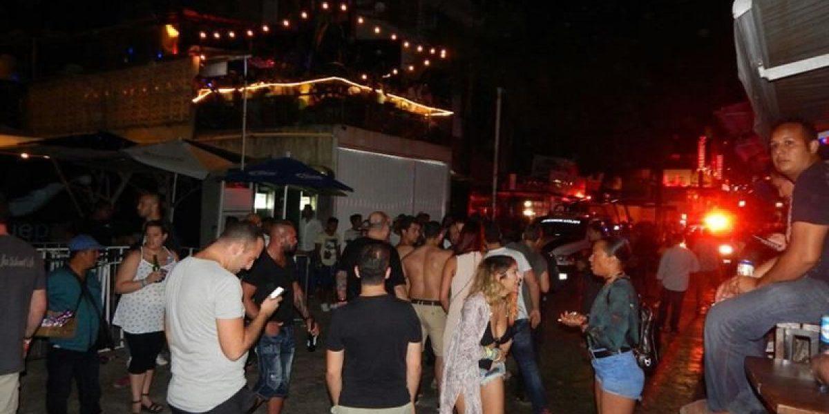 Aparece manta de supuestos Zetas en Playa del Carmen; se adjudican tiroteo