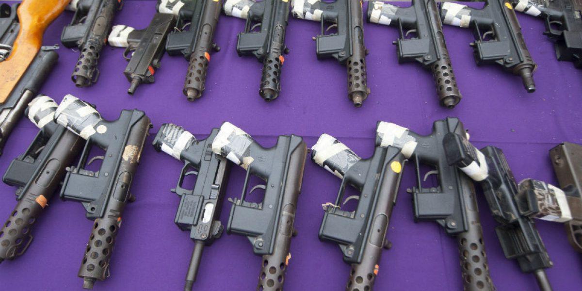 Destruyen en NL500 armas provenientes del operativo Rápido y Furioso