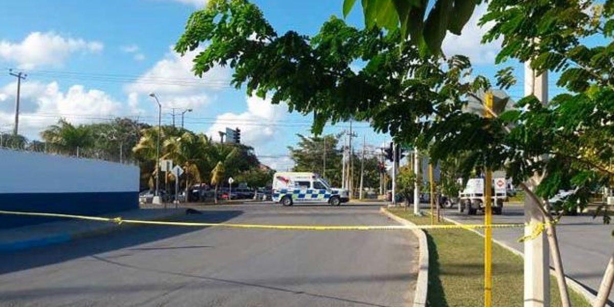 Balean Fiscalía de Quintana Roo; confirman tres muertos