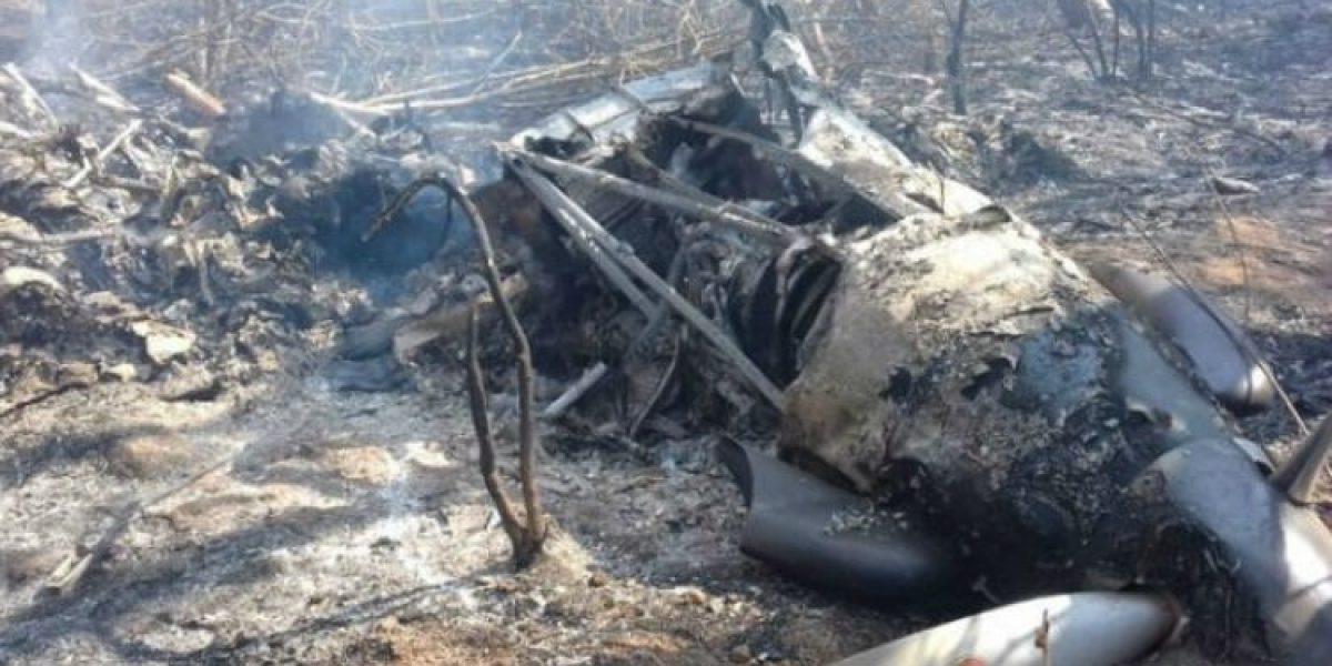 Reportan dos muertos por desplome de avioneta de la Fuerza Aérea en Chiapas