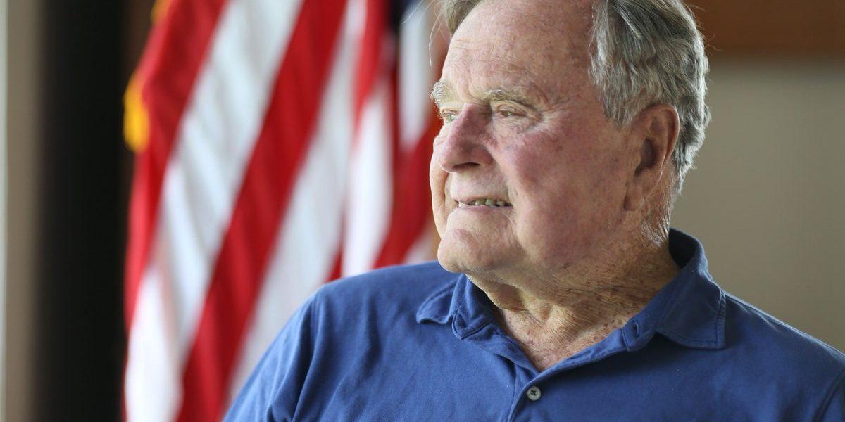 Expresidente George H. W. Bush es hospitalizado de emergencia