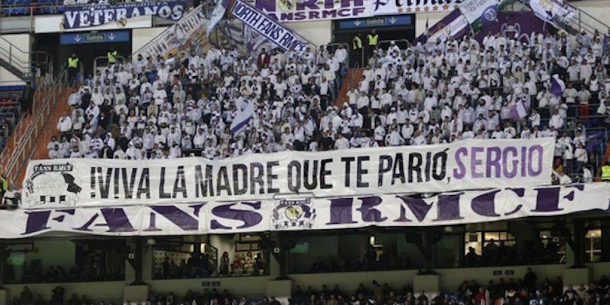 Vaya extraña forma de apoyar a Sergio Ramos
