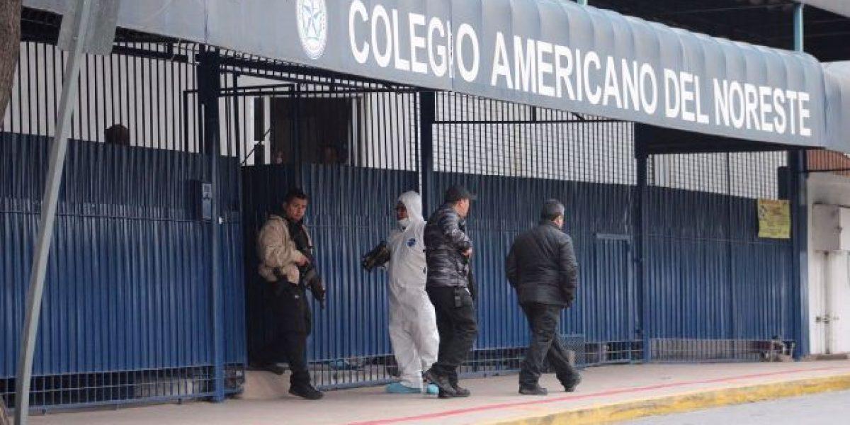 Balaceras ocurridas en colegios de México