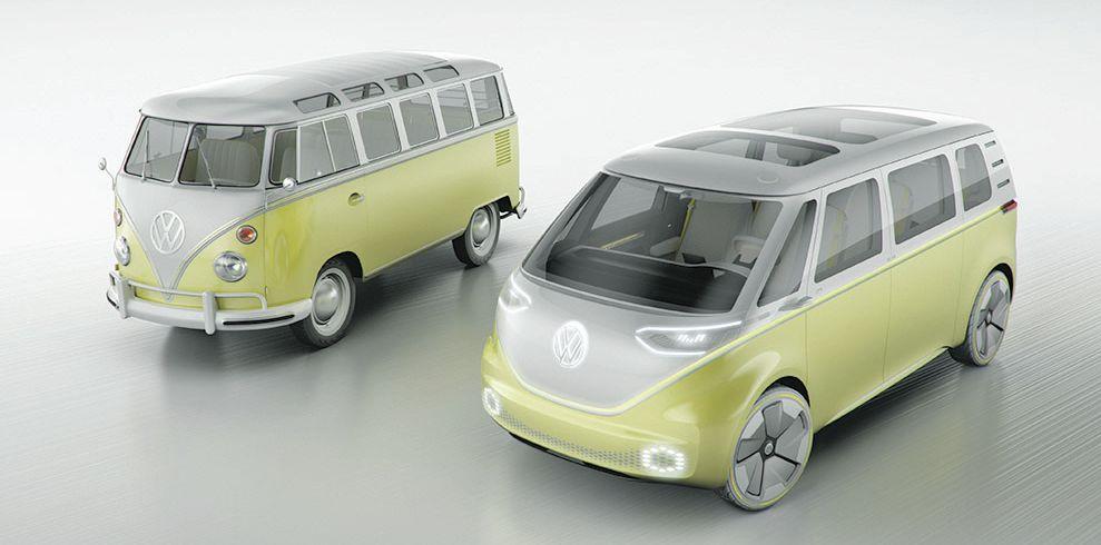 I.D. BUZZ es el primer monovolumen autónomo con propulsor eléctrico. | Volkswagen