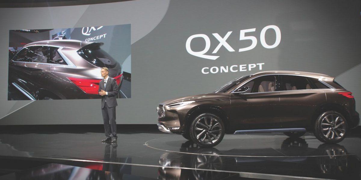 Infiniti Qx50 Concept se fabricará en México
