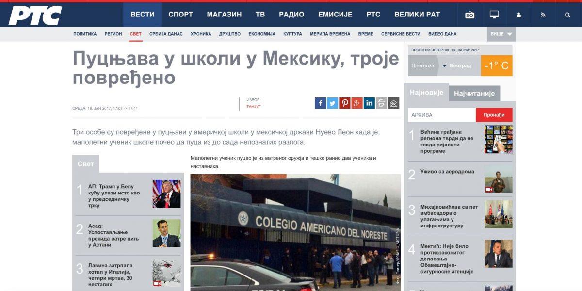 Tragedia en Monterrey destacada por medios internacionales