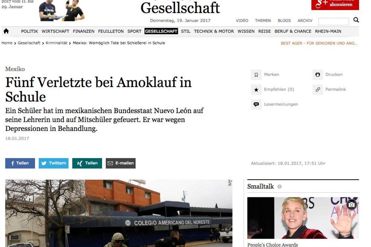 Faz.net – Alemania