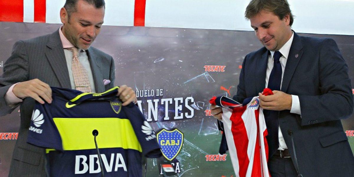 ¡Duelo de gigantes! Chivas presenta partido contra Boca Juniors
