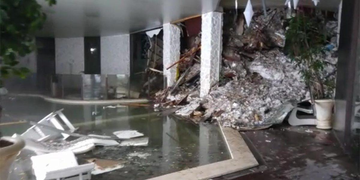Tragedia en Italia: hotel es cubierto por un alud de nieve con 30 personas