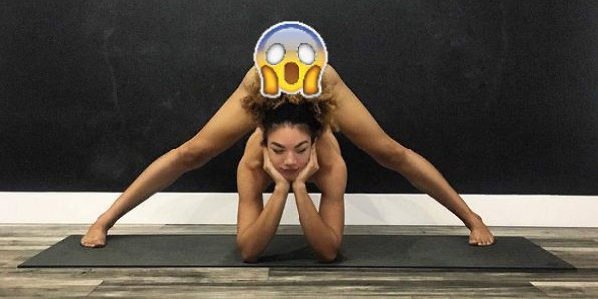 Jess Taras,  la maestra de yoga que deslumbra en Instagram