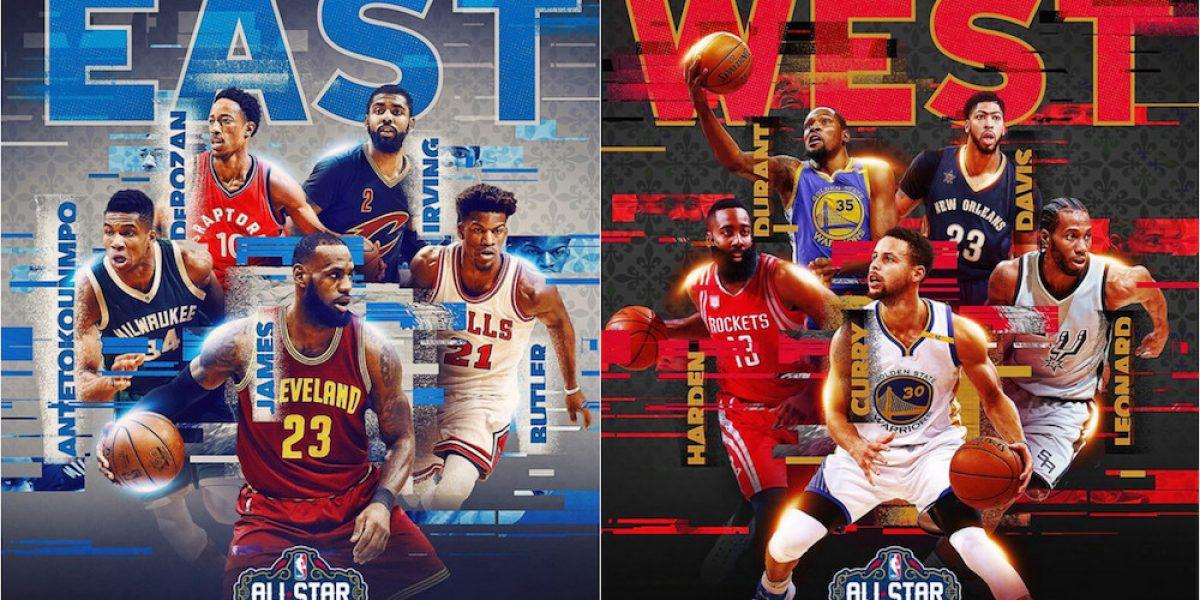 NBA da a conocer titulares para el Juego de Estrellas 2017