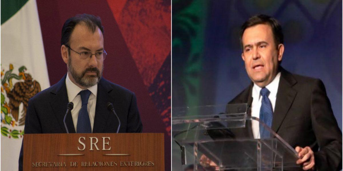 Videgaray y Guajardo pactan reunión con gabinete de Trump