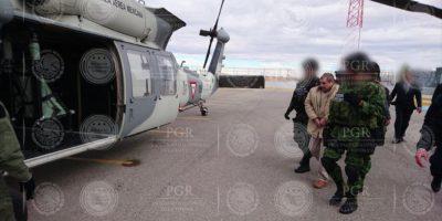 Extradición Chapo. Imagen Por: Foto: PGR