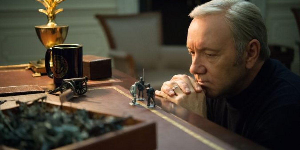Revelan fecha de estreno de la quinta temporada de House of Cards
