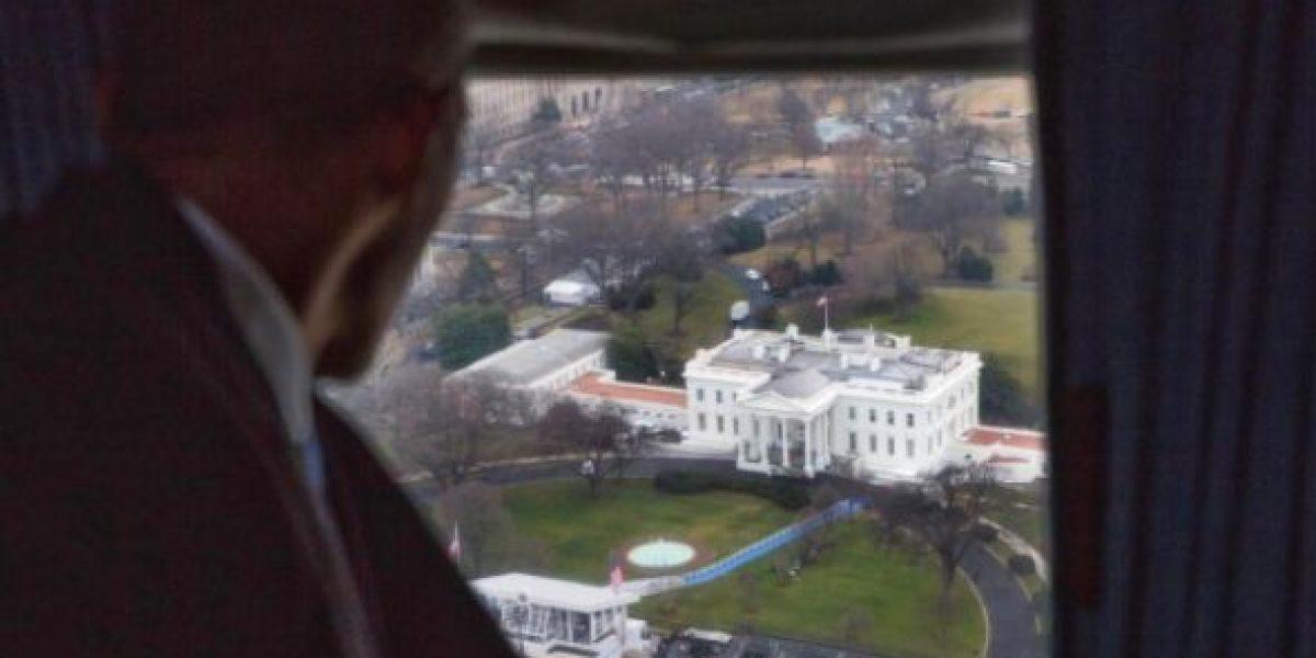 La nostalgia de Barack Obama, capturada en una última foto viral