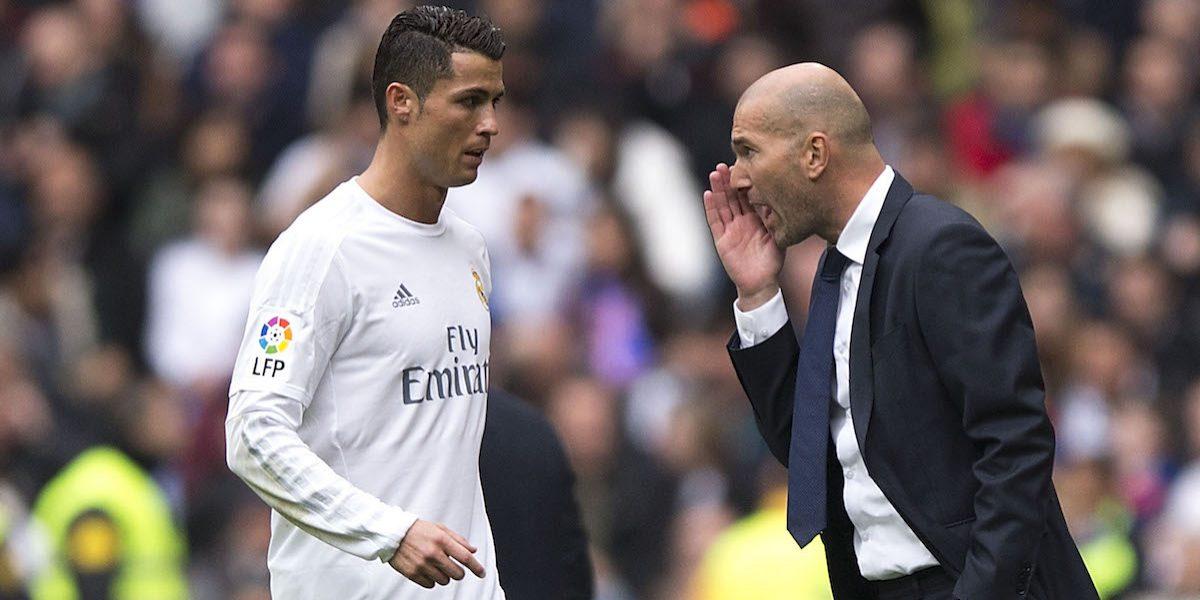 ¿Qué le pasa a Cristiano? Zidane tiene la respuesta