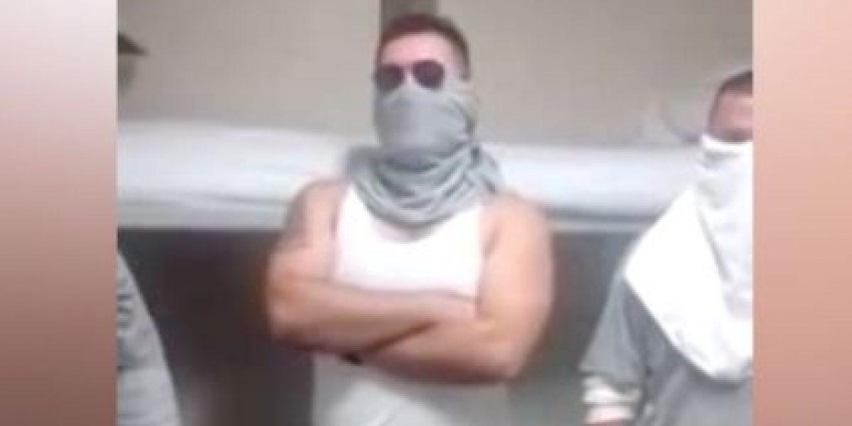 VIDEO: Presuntos sicarios envían mensaje a