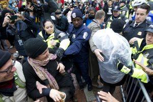 Inauguration Protest. Imagen Por: Fotos: AP