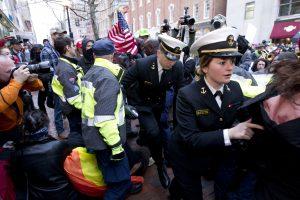 Trump Inauguration Protest. Imagen Por: Fotos: AP