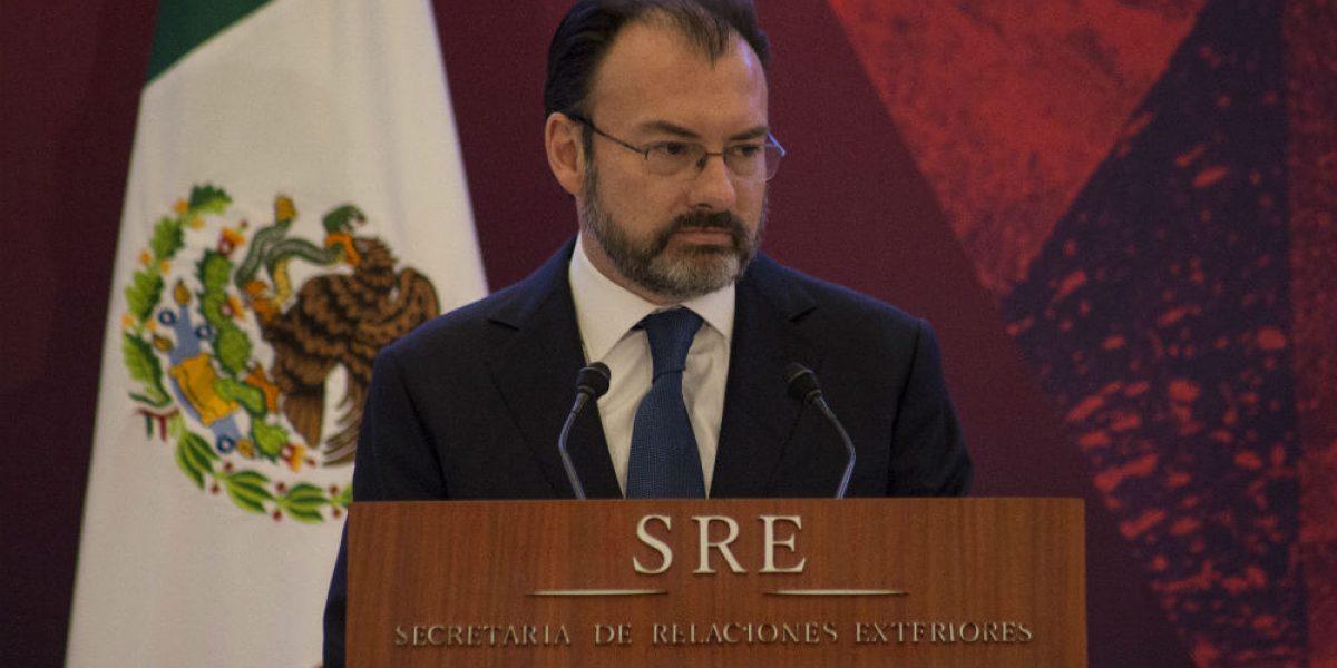 #Confidencial: Videgaray busca abrir las puertas de la Casa Blanca