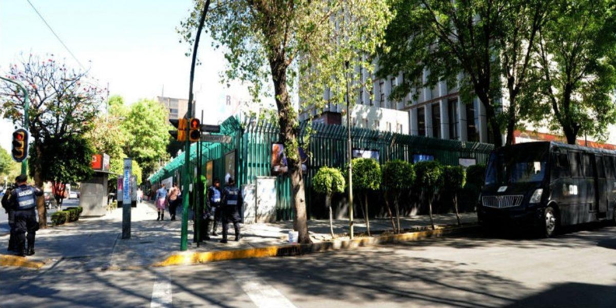 Resguardan sede nacional del PRI ante amenazas de Arne