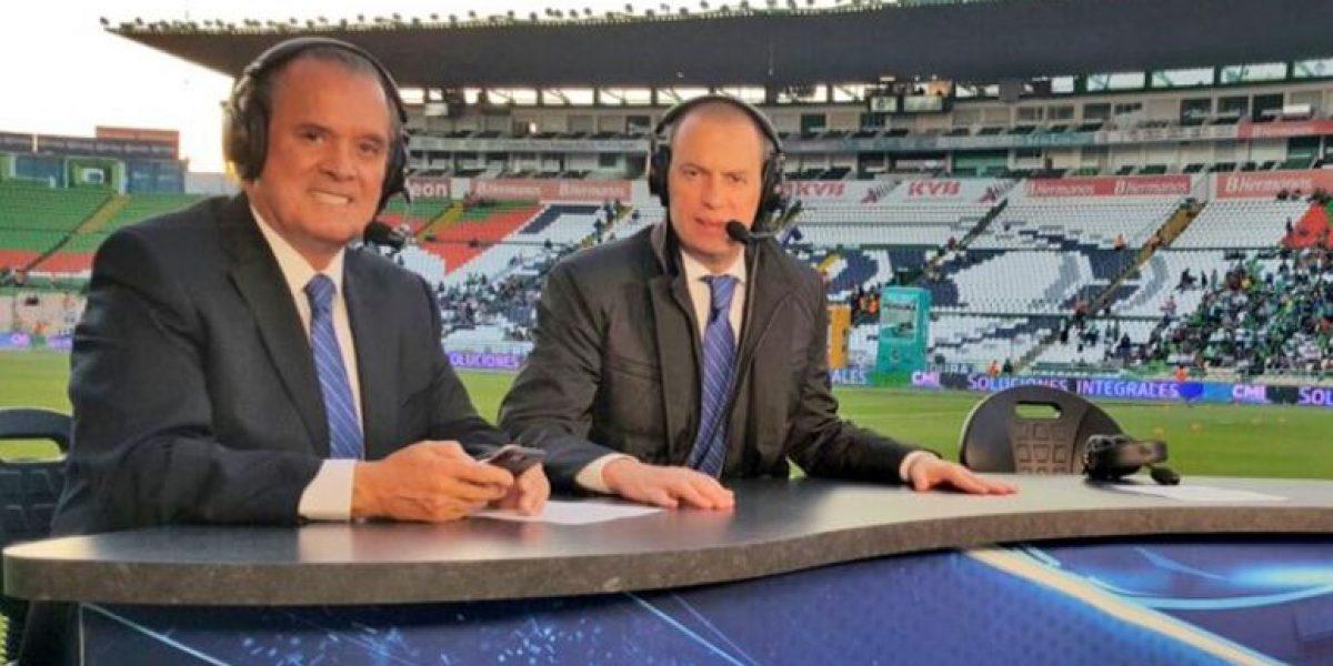 VIDEO: André Marín y Sergio Bueno se dan tremendo agarrón en pleno programa