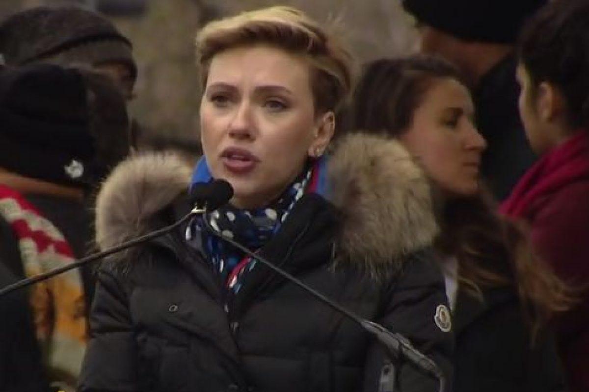 Scarlett Johansson. Imagen Por: Twitter