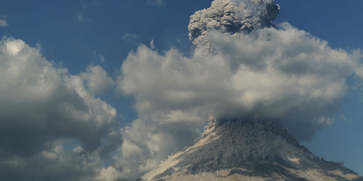 Piden respetar perímetro de seguridad por actividad del Volcán de Colima