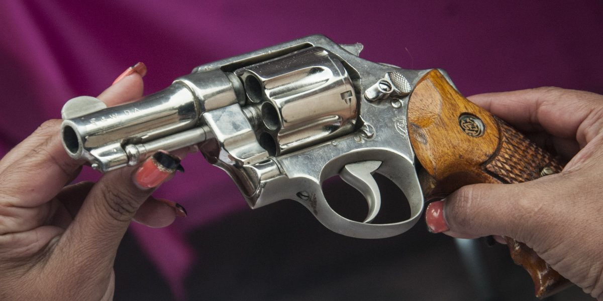 CDMX es la entidad con más armas registradas: Sedena