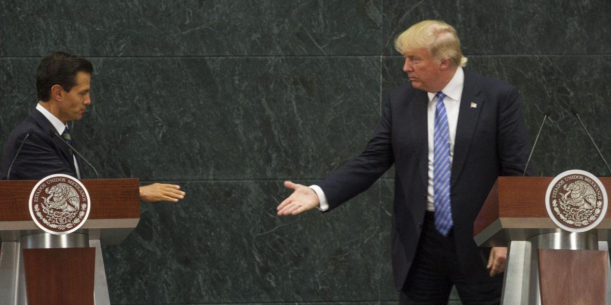 ¿Qué le dijo Peña Nieto a Donald Trump?