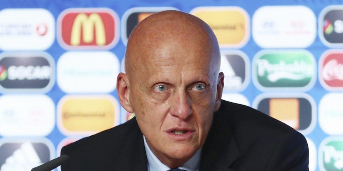 Pierluigi Collina, nuevo presidente de la Comisión de Arbitros de la FIFA