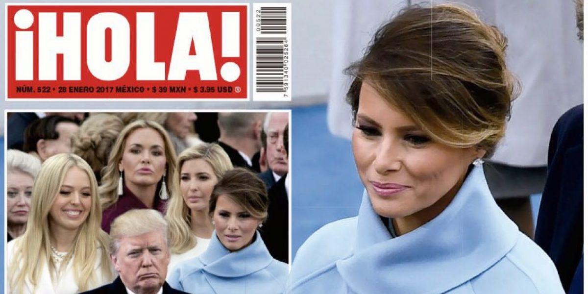 Las portadas de Melania Trump