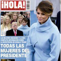 Desde las portadas más polémicas de GQ en 2000 a la portada de ¡Hola! México como Primera Dama de Estados Unidos. | Archivo y Cortesía. Imagen Por: Cortesía Hola México