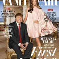 Melania irradia elegancia en esta primera plana de Vanity Fair junto a su marido el presidente Donald Trump. | Vanity Fair
