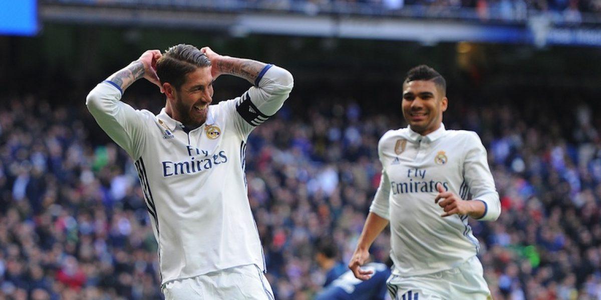 Real Madrid consigue sufrida victoria ante el Málaga