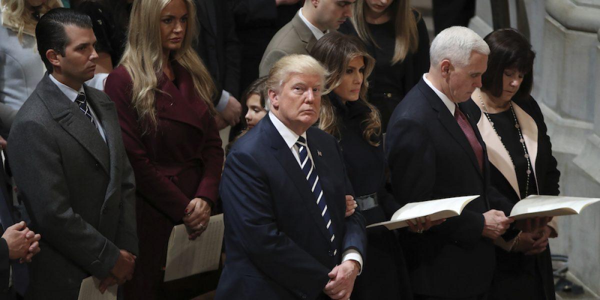 Así es el segundo día de Trump como presidente