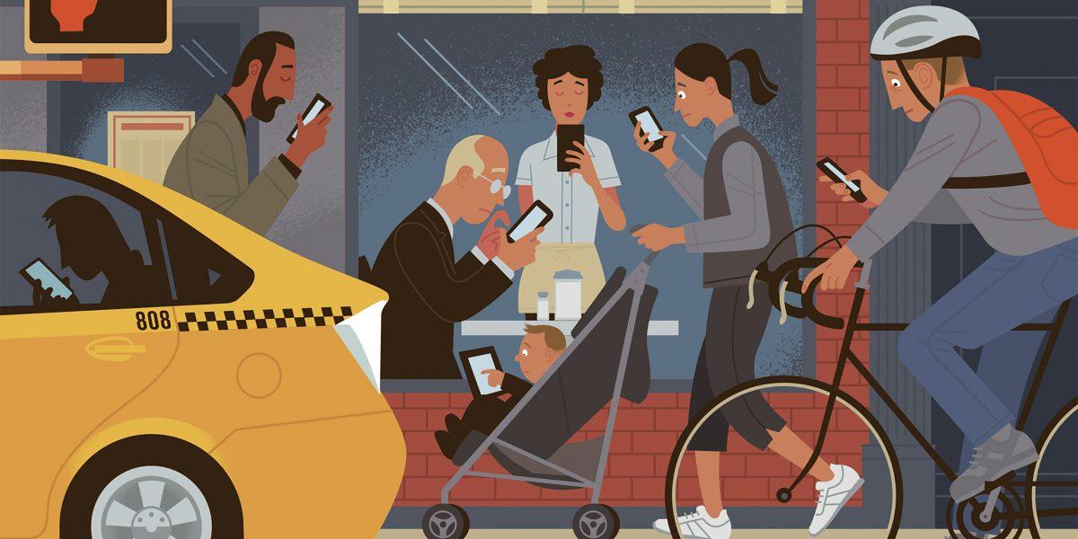 Adictos al teléfono inteligente