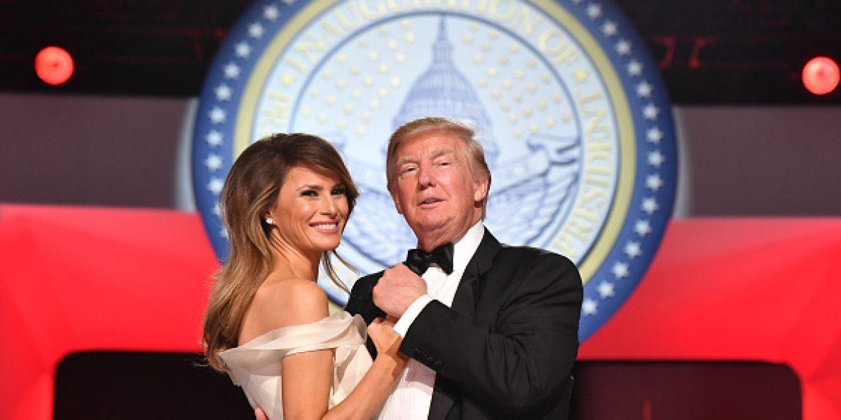 El incómodo momento entre Melania y Donald Trump del que todos hablan
