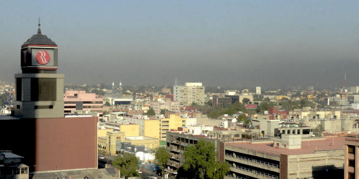 Valle de México amanece con regular calidad del aire