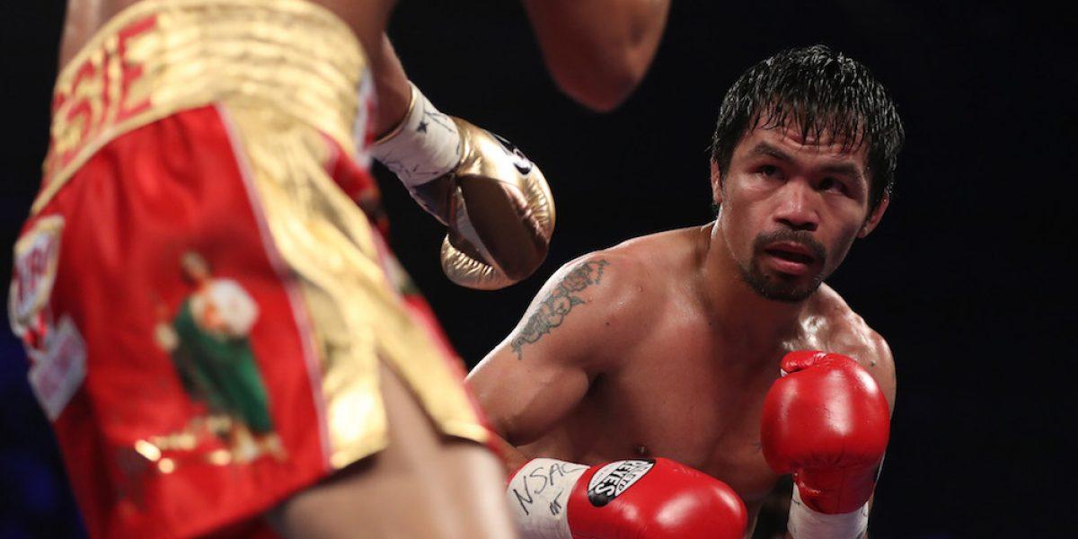 Manny Pacquiao está dispuesto a pelear con McGregor