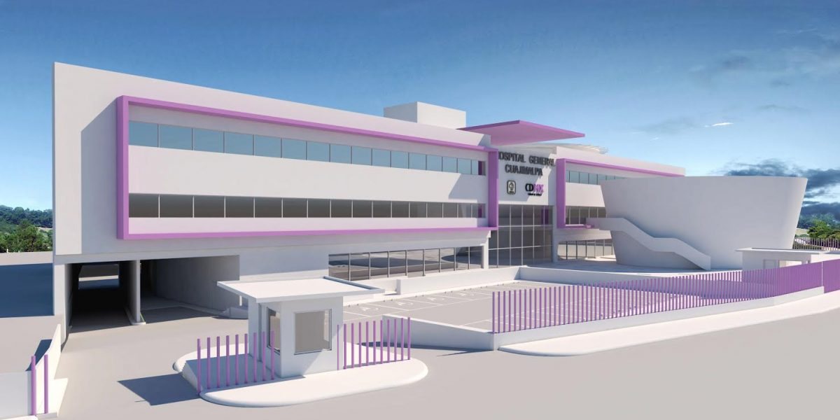 Construyen Hospital de Cuajimalpa a casi dos años de pipazo