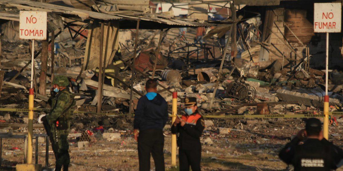 Explosiones Tultepec