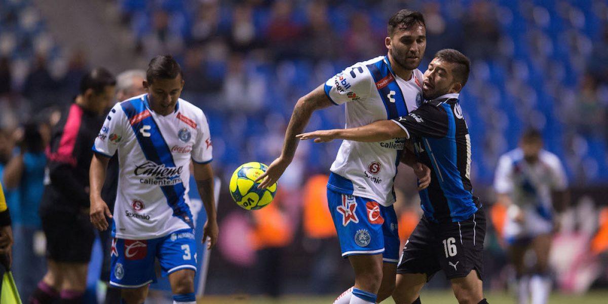Puebla y Querétaro cierran la fecha tres con empate sin goles