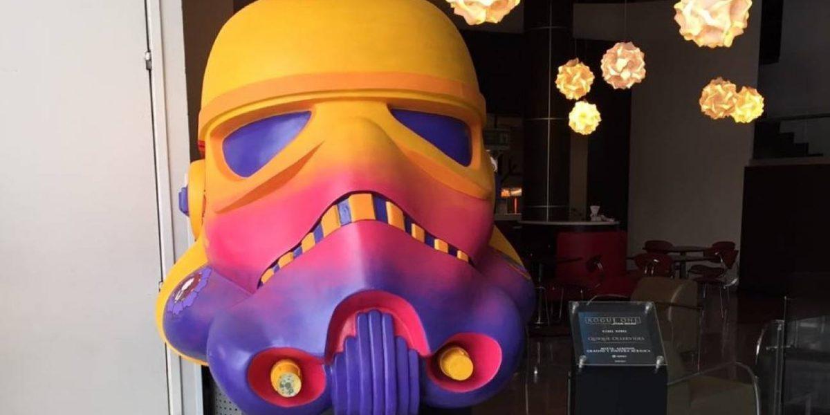 Arte en cascos de Rogue One: una historia de Star Wars