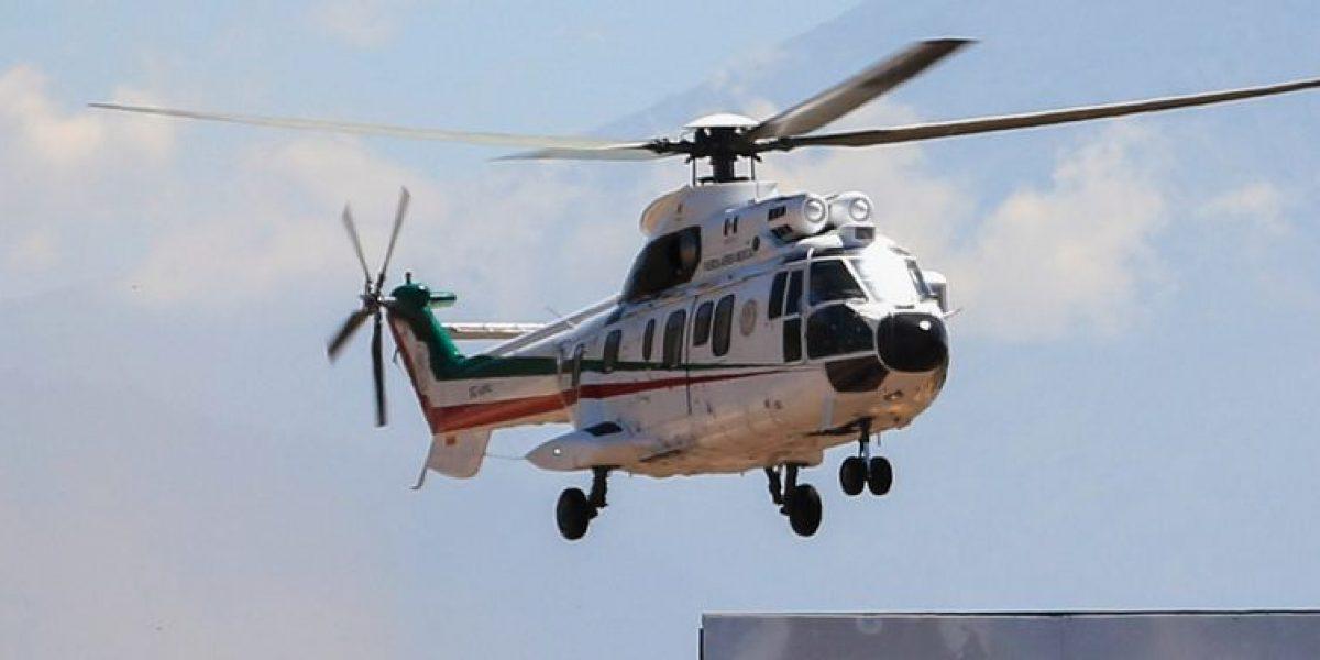 Confirman desaparición de helicóptero en Nuevo León
