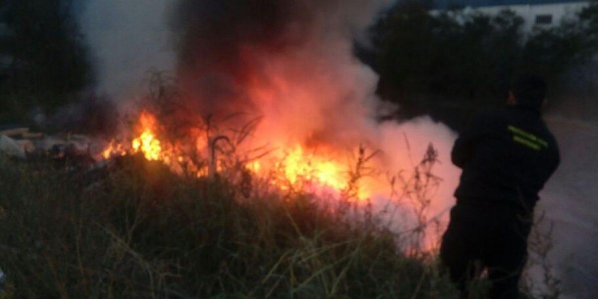 Al menos 36 incendios por fuertes vientos en Nuevo León
